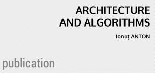 Architecture and Algorithms: Book