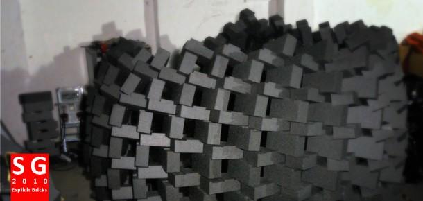 Smart Geometry 2010 - Explicit bricks cluster